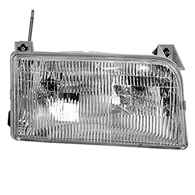 Passengers Headlight Headlamp Replacement for Ford Pickup Truck SUV F2TZ13008A