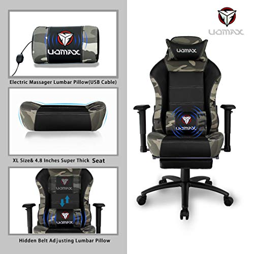 Uomax Gaming Chair Reclining Massage Racing Chair For