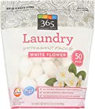 365 Everyday Value, Laundry Detergent Pods, White Flower, 50 ct (Packaging May Vary)