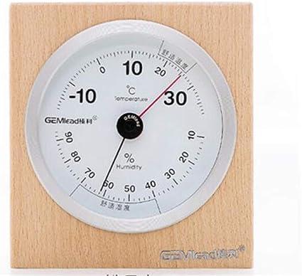Higrometro Digital Termometro Higrometro Digital Relojes Jardin Hogar Termómetro Termómetro Húmedo Interior Hogar Alta Precisión Farmacia Mesa Decoración Superior: Amazon.es: Bebé