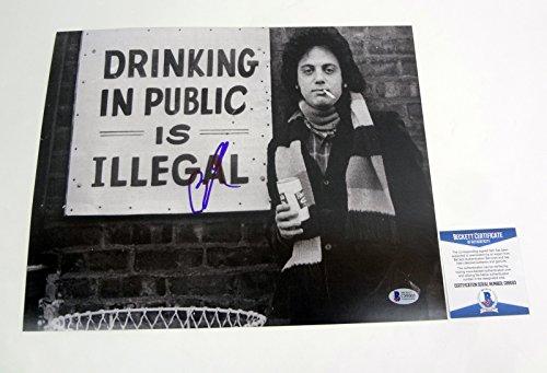 Billy Joel The Piano Man Signed Autograph 11x14 Photo Beckett BAS COA #2
