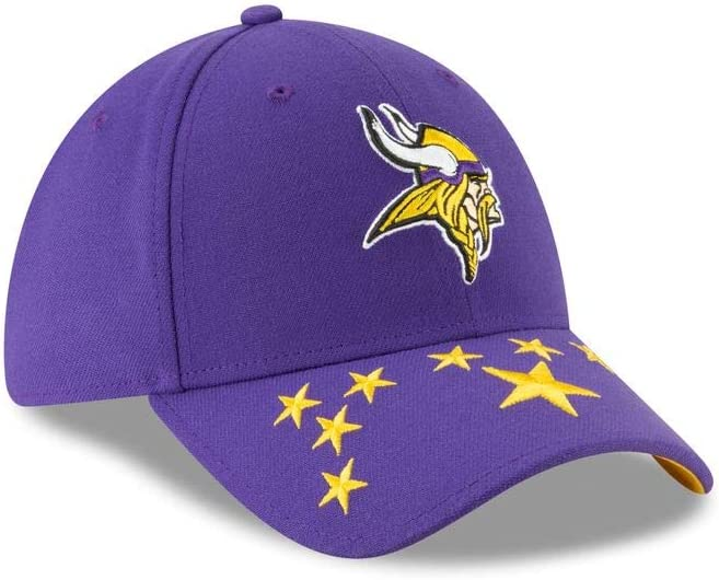 New Era Minnesota Vikings 39thirty Stretch Cap Nfl19 Draft