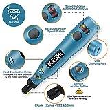 KeShi Cordless Rotary Tool, 3.7V Li-ion Rotary