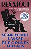 Image of Some Buried Caesar/The Golden Spiders (Nero Wolfe)
