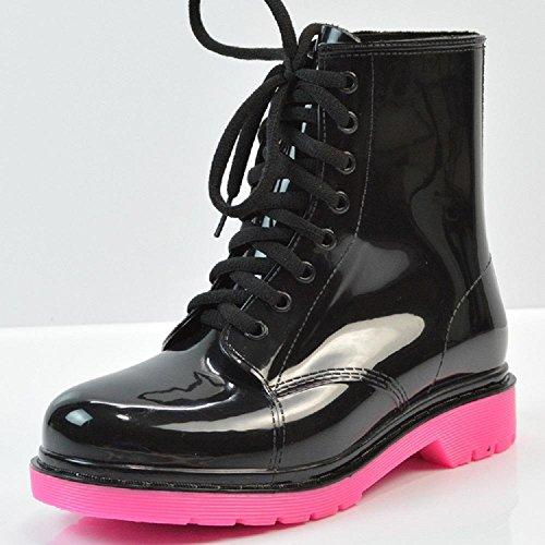 Pink Ms Stiefel Stiefel regen Martin rSwrIqa