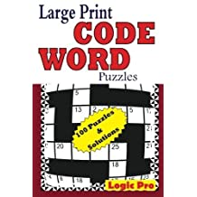 Large Print Code Word Puzzles (Volume 1) by Logic Pro(2014-10-27)