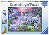 Ravensburger Unicorns in The Sunset Glow 150 Piece Jigsaw Puzzle for Kids – Every Piece is Unique, Pieces Fit Together Perfectly