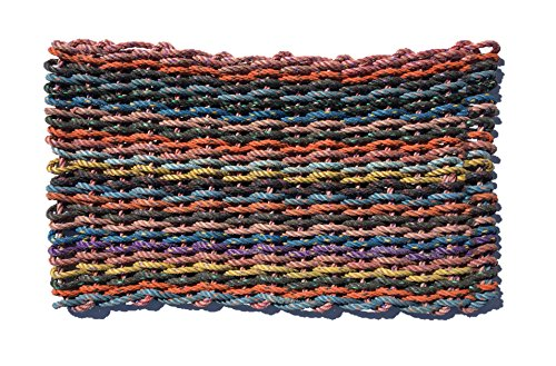 100% Recycled Lobster Rope Mat- The Princeton