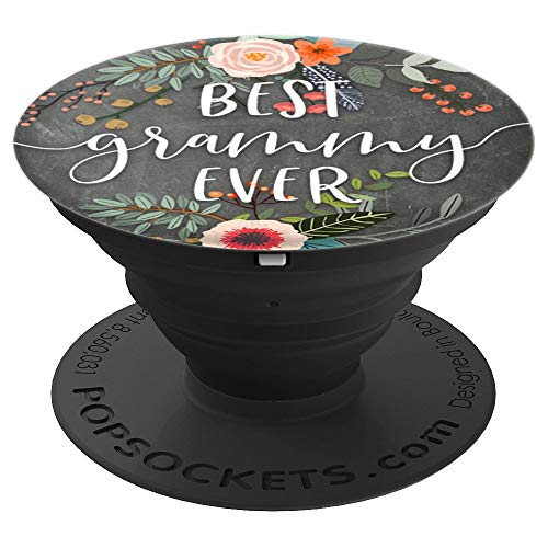 Best Grammy Ever - Cute Mother's Day Gifts for Grandma - PopSockets Grip and Stand for Phones and Tablets