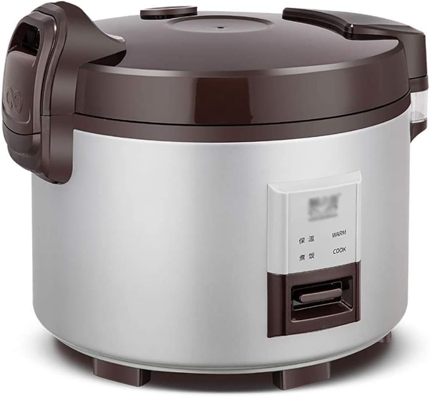 Old fashioned Rice Cooker with Non-Stick Aluminium Easy Clean Inner Pot, Keep Warm Function, Cool Touch Handles, 9 L-18L Cooked Rice Capacity, 1300W-2500W (Size : 9L-1300w)