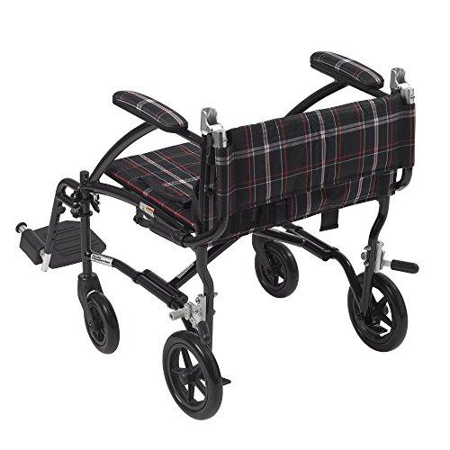 Drive-Medical-Fly-Lite-Ultra-Lightweight-Transport-Wheelchair-Black-Frame-19
