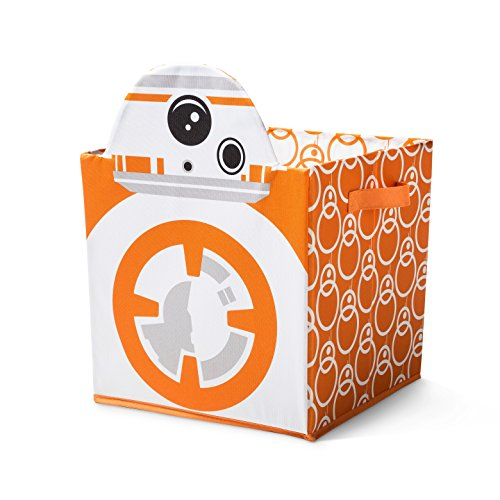 Star Wars BB-8 Utility Storage Bin Orange and White