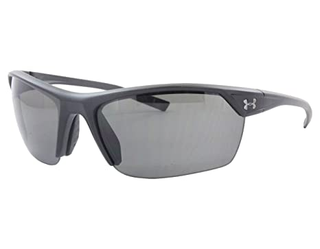 bdda14a01764 Under Armour Zone 2.0 Satin Black Frame, with Black Rubber and Gray Lens