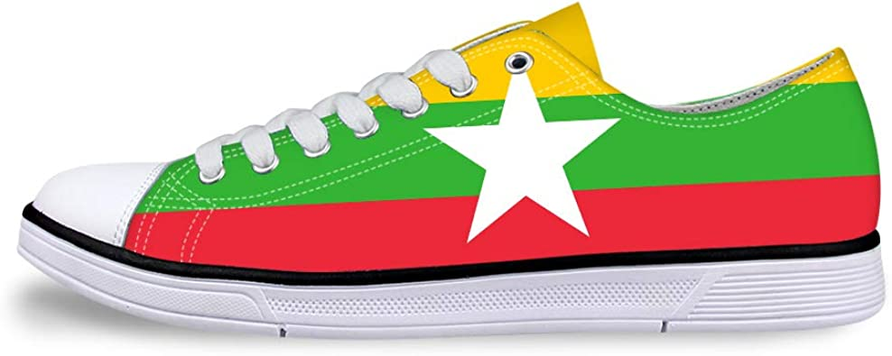 Classic Sneakers Unisex Adults Low-Top Trainers Skate Shoes Mountain State West Virginia Flag