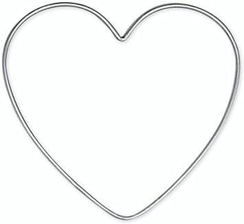 Halbes Herz NEU Styropor 1 Stück 25cm