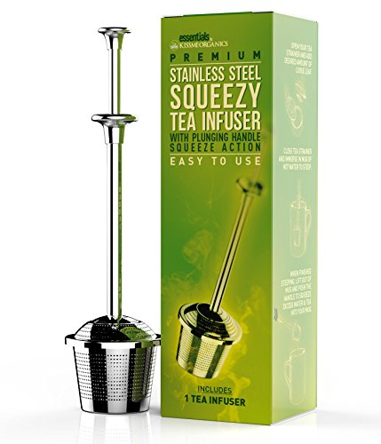 Squeezy Tea Infuser Stainless Squeezing product image