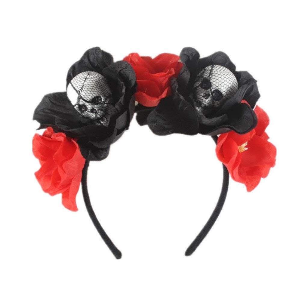 Diadema de Araña Ajustable Tocado de Halloween Rosa Flor ...
