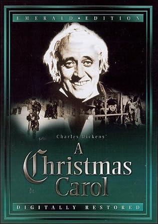 Alister Sims Christmas Carol.Amazon Com A Christmas Carol Emerald Edition Alastair Sim