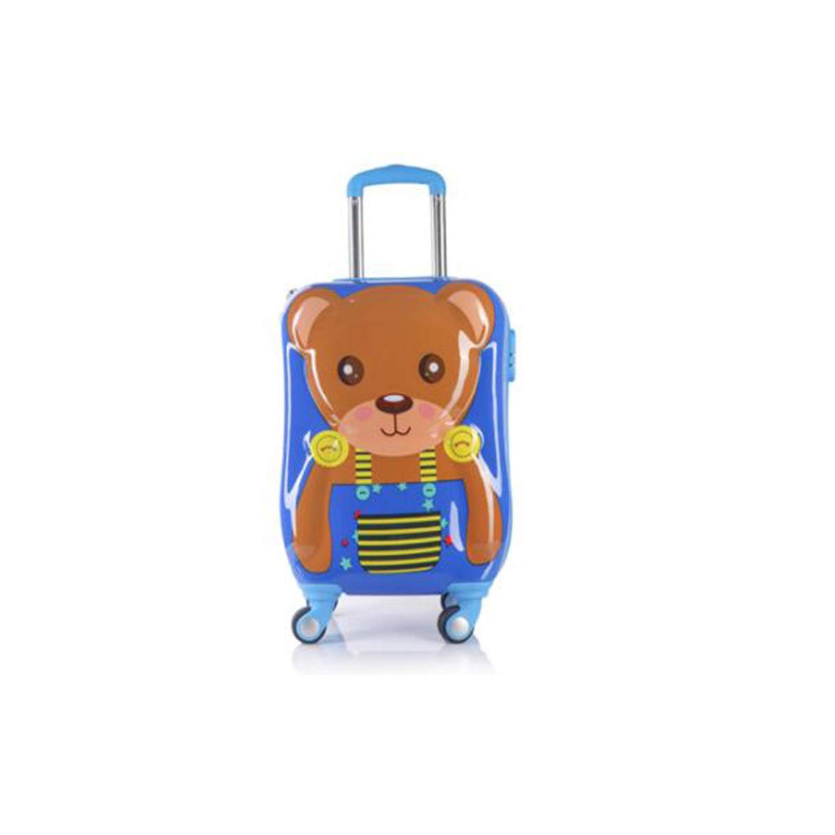 Size : 18 inches, Style : B Multi-Color Trolley case Wulianshangmao Trolley case Universal Wheel Luggage 18 Cartoon Travel Trolley case