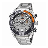 Omega Seamaster Planet Ocean Chronograph Grey Automatic Mens Watch 215.90.46.51.99.001