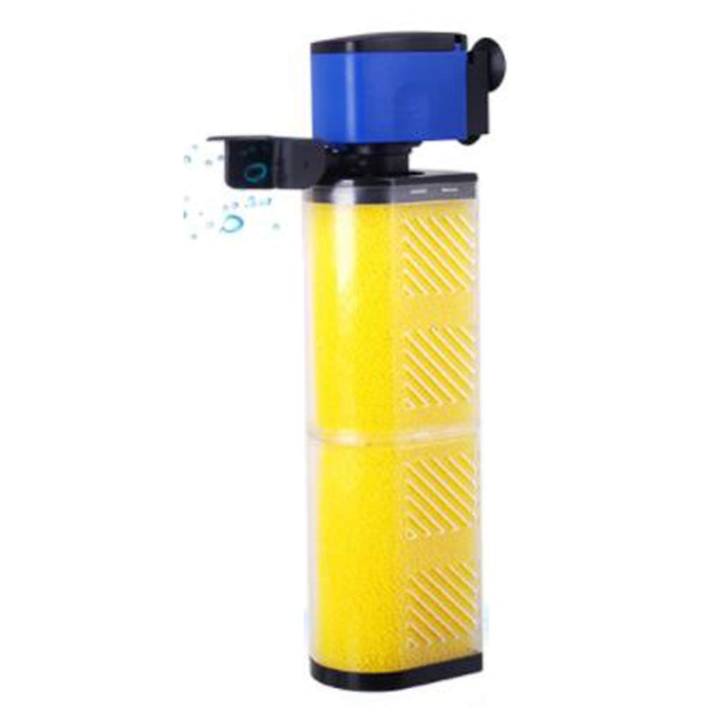 D@Qyn Filtro Per Acquario Built-In Mute Filtro Tre-In-Un Filtro Acquario Pompaggio Pompa Di Aerazione,105