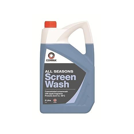 Comma SW5L Producto detergente para limpiaparabrisas, 5 litros