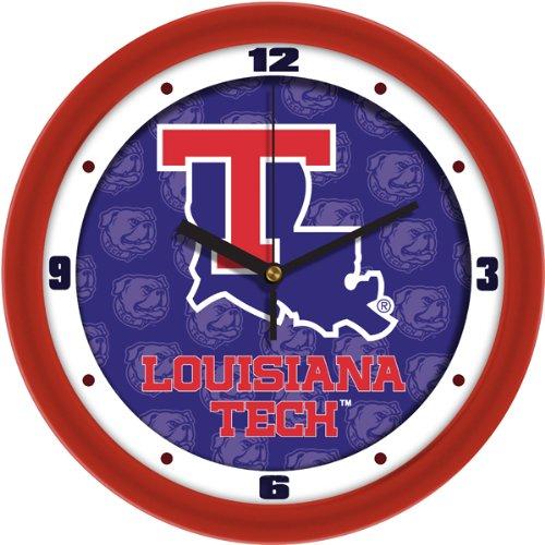SunTime Louisiana Tech Bulldogs - Dimension Wall Clock Bulldogs Dimension Wall Clock