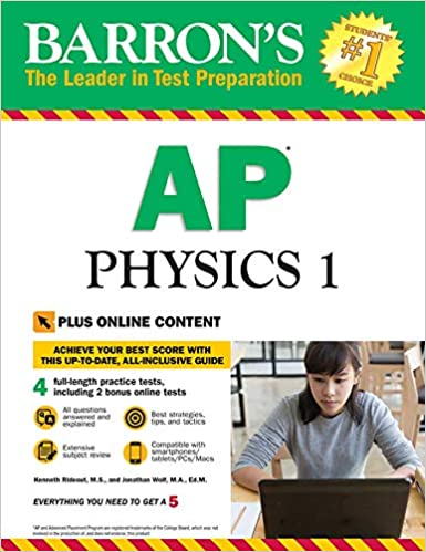 Amazon com: Barron's AP Physics 1 with Online Tests (Barron's AP