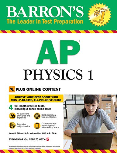Pdf Teen Barron's AP Physics 1 with Online Tests (Barron's AP Physics 1 and 2)
