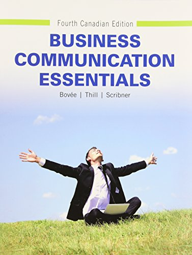 Business Communication Essentials, Fourth Canadian Edition (4th Edition)