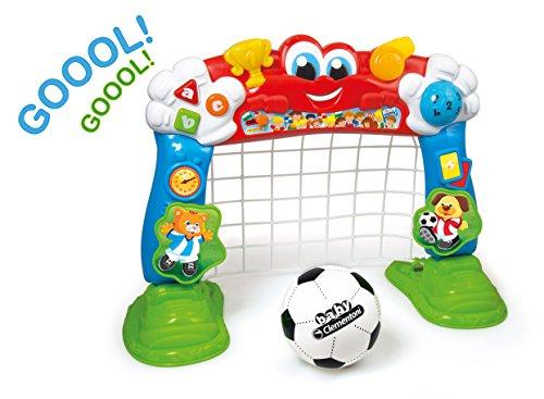 Clementoni 69468.6 - Interaktives Fußballtor, Lernspiel