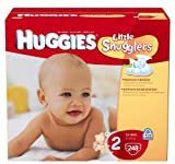 Huggies Little Snugglers Diapers, Ebulk, Size 2, 248 Count