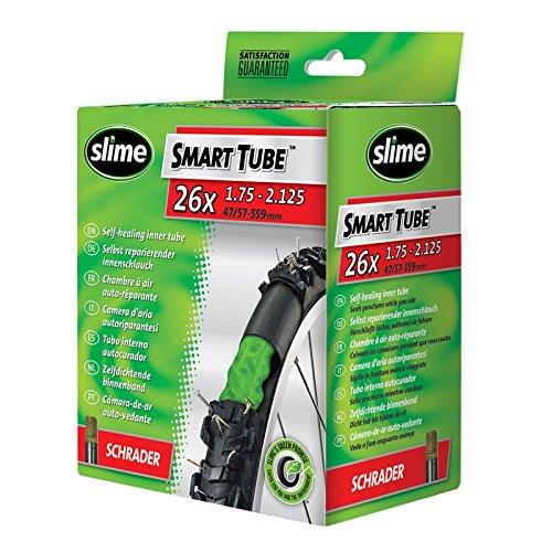Slime 30045 Self-Sealing Smart Tube, Schrader Valve (26 x 1.75-2.125