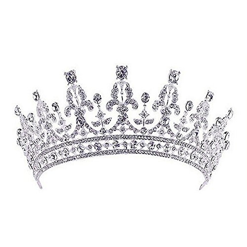 thyway-retro-royal-silver-wedding-crown-clear-cz-crystal-pageant-party-tiara-headpiece-headdress