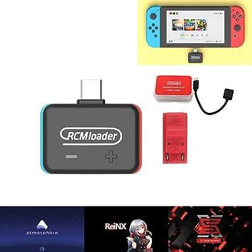 Aceallin Payloads - Transmisor Bluetooth para Nintend Switch Lite Switch Smart TV Notebook Cargador RCM One Injector: Amazon.es: Electrónica