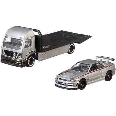 Hot Wheels Aero Lift Vehicle: Toys & Games