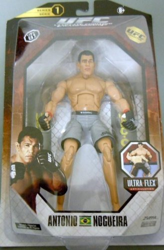 (UFC Ultimate Fighting Jakks Pacific Series 1 UFC Collection Deluxe Action Figure Antonio Nogueira UFC 81)
