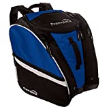 Transpack TRV Pro Ski Boot/Gear Backpack Chelsea Blue w/Silver Electric