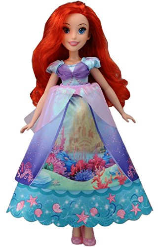 lens f Princess Royal Ariel dress doll Disney qt4a7x