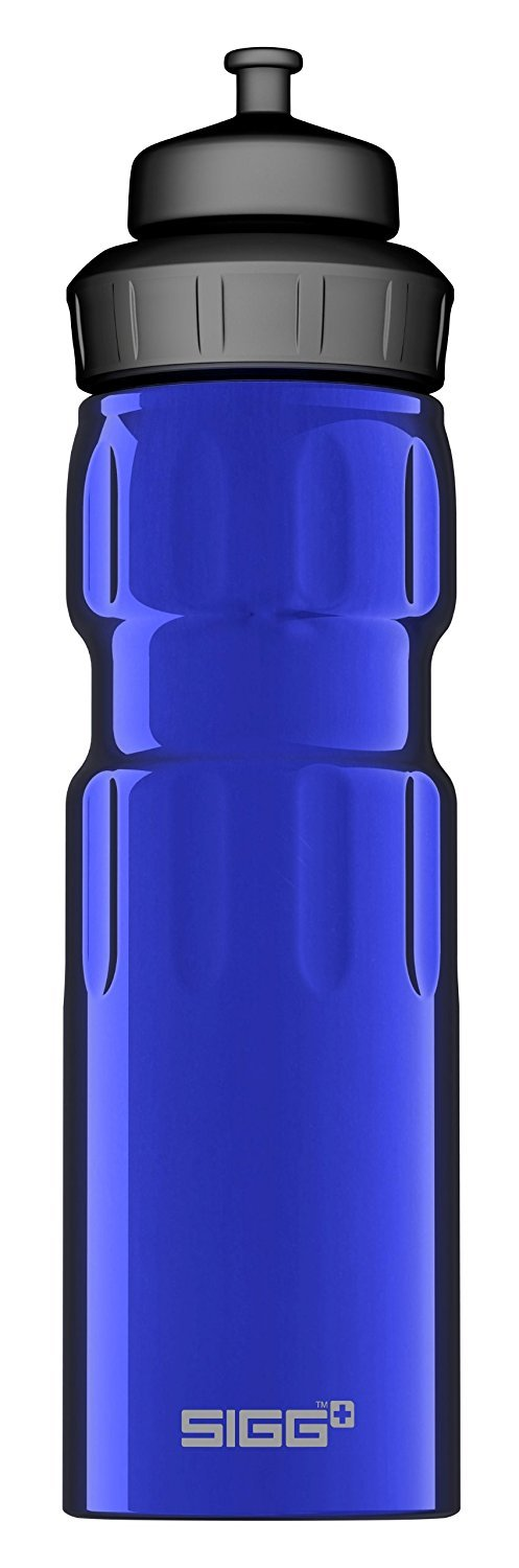 Sigg Wide Mouth Water Sports Bottle, 0.75L, Pack of 6 (Dark Blue)
