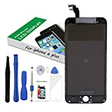 Screen Replacement LCD Display 3D Touch Screen Digitizer for iPhone 6 Plus 5.5 inch Black Frame Assembly Set with Repair Tools