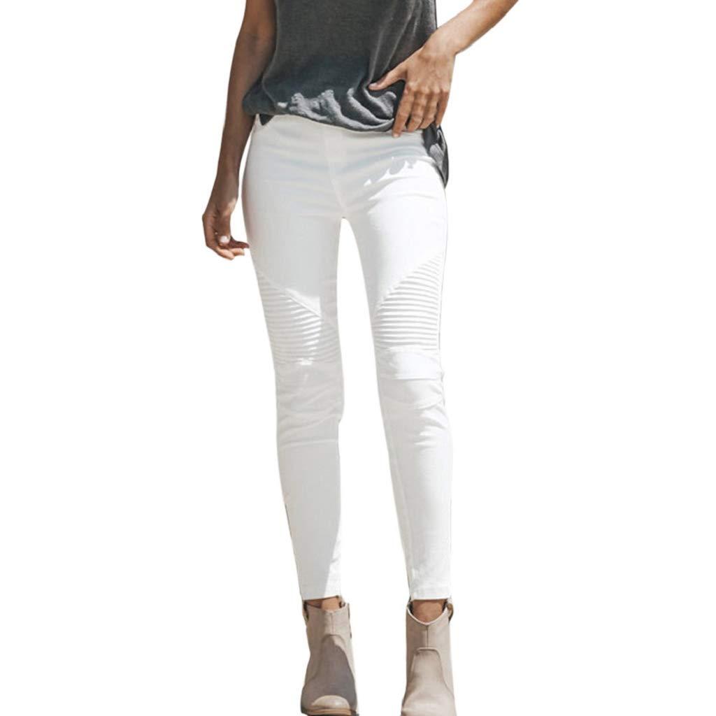 af6e06c3add9d5 Luckycat Damen mit hohen Taille Stretch Hose Jeans Leggings dünner dünnen Fitness  Hosen Hose Boyfriend Jeans Mode 2018: Amazon.de: Bekleidung
