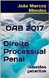 eBook OAB - Direito Processual Penal - 2017: Questões com gabarito oficialnull