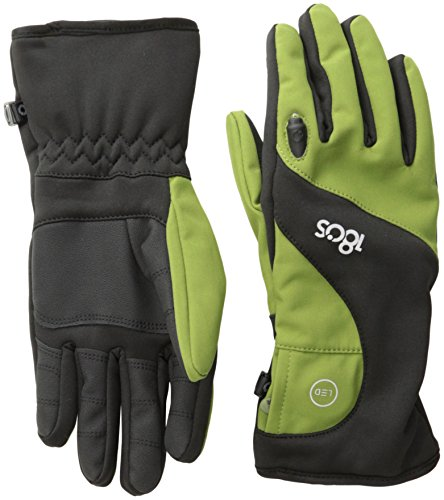 180s Men's Torch LED Glove,Black Green,Medium (180s Green)