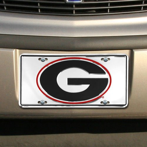 G GEORGIA Super Stock Metal License Plate 6 x 12 (Georgia License Plate)