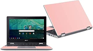 "Mightyskins Skin Compatible with Acer Chromebook Spin 11"" Cp311 - Solid Blush 