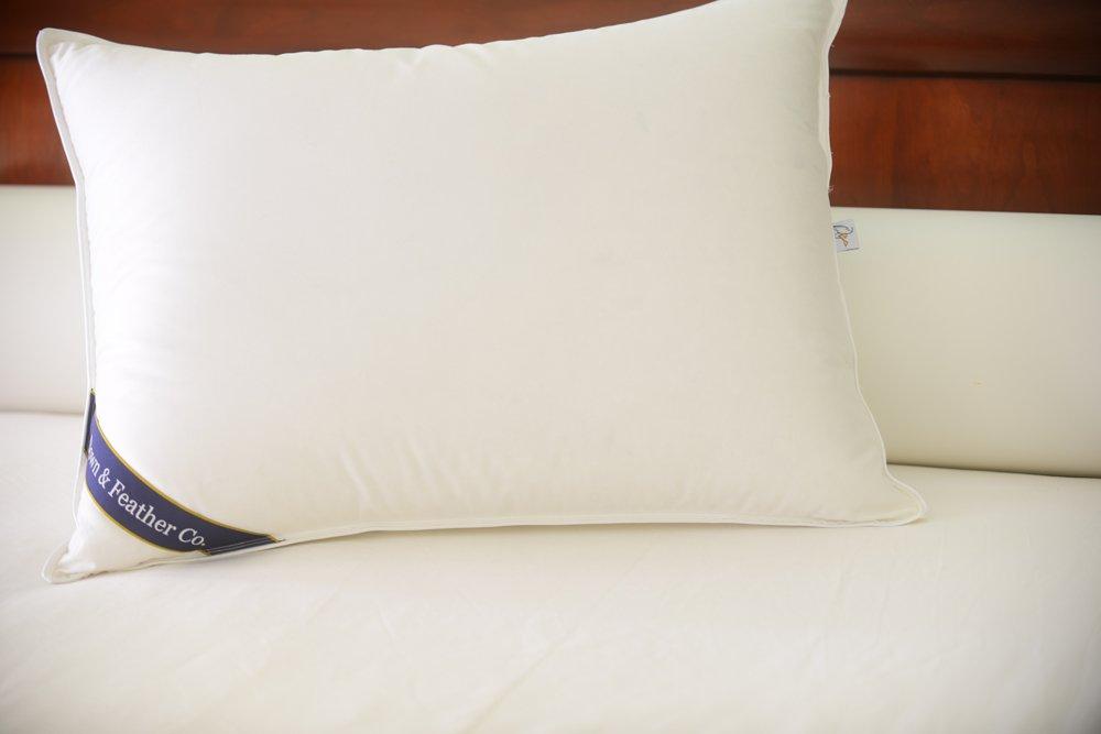 Snuggle Soft Classic Feather Pillow Standard Size - Medium (23oz)