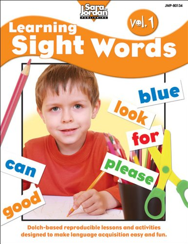 Learning Sight Words, vol. 1 (Dolch Basic Sight Words)