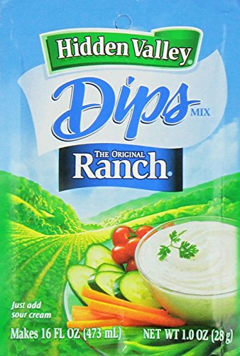 ingredients for hidden valley ranch dressing mix - 7
