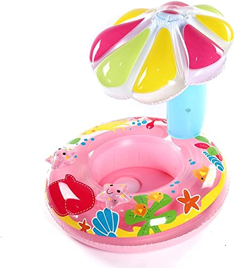 BHH-Swim ring Mini Anillo de baño Agua Inflable Seta para Niños ...